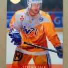 1995-96 Leaf Elit Set Sweden #54 Stefan Falk HV 71