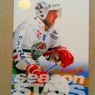 1995-96 Leaf Elit Set Sweden #112 Rogle BK Season Stats