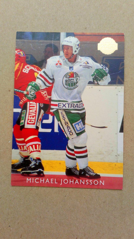 1995-96 Leaf Elit Set Sweden #119 Michael Johansson Rogle BK