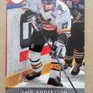 1995-96 Leaf Elit Set Sweden #131 Paul Andersson Vasteras IK