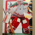 1995-96 Leaf Elit Set Sweden #137 Hakan Algotsson Vastra Frolunda HC