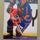 1995-96 Leaf Elit Set Sweden #186 Niklas Falk Djurgardens IF