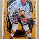1995-96 Leaf Elit Set Sweden #290 Claes Lindblom Vasteras IK Captain