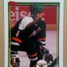 1991-92 Topps #142 Chris Dahlquist Minnesota North Stars