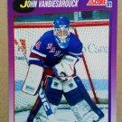 1991-92 Score American #10 John Vanbiesbrouck New York Rangers