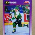 1991-92 Score American #72 Dave Gagner Minnesota North Stars
