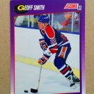 1991-92 Score American #87 Geoff Smith Edmonton Oilers