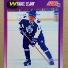 1991-92 Score American #116 Wendel Clark Toronto Maple Leafs