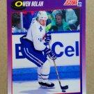 1991-92 Score American #143 Owen Nolan Quebec Nordiques