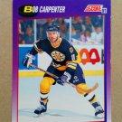 1991-92 Score American #162 Bob Carpenter Boston Bruins