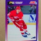 1991-92 Score American #166 Paul Ysebaert Detroit Red Wings