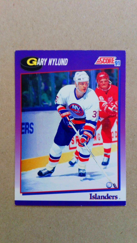 1991-92 Score American #192 Gary Nylund New York Islanders