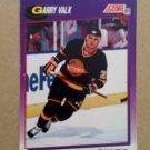 1991-92 Score American #195 Garry Valk Vancouver Canucks