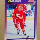 1991-92 Score American #199 Gary Roberts Calgary Flames