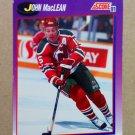 1991-92 Score American #210 John MacLean New Jersey Devils