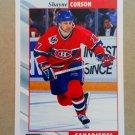1992-93 Score #158 Shayne Corson Montreal Canadiens