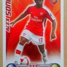 2008-09 Topps Match Attax Extra Premier League Alex Song Arsenal