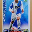 2008-09 Topps Match Attax Extra Premier League Martin Olsson Blackburn Rovers