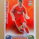 2008-09 Topps Match Attax Extra Premier League Albert Riera Liverpool