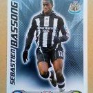2008-09 Topps Match Attax Extra Premier League Sebastien Bassong Newcastle Utd