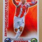 2008-09 Topps Match Attax Extra Premier League Danny Higginbotham Stoke City