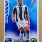 2008-09 Topps Match Attax Extra Premier League Luke Moore West Bromwich Albion