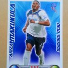 2008-09 Topps Match Attax Extra Premier League Ariza Makukula NS Bolton Wanderers