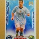 2008-09 Topps Match Attax Extra Premier League Wayne Bridge NS Manchester City