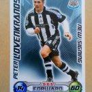 2008-09 Topps Match Attax Extra Premier League Peter Lovenkrands NS Newcastle United