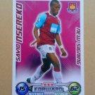 2008-09 Topps Match Attax Extra Premier League Savio Nsereko NS West Ham United