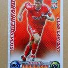 2008-09 Topps Match Attax Extra Premier League Steven Gerrard CC Liverpool