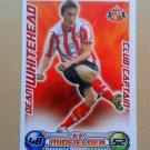 2008-09 Topps Match Attax Extra Premier League Dean Whitehead CC Sunderland