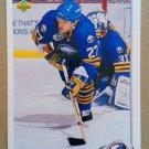 1992-93 Upper Deck #74 Brad May Buffalo Sabres