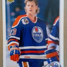1992-93 Upper Deck #84 Dave Manson Edmonton Oilers