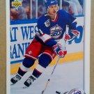 1992-93 Upper Deck #136 Fredrik Olausson Winnipeg Jets