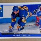 1993-94 Upper Deck #5 Donald Audette Buffalo Sabres