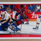 1993-94 Upper Deck #117 Gilbert Dionne Montreal Canadiens