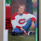 1993-94 Upper Deck #248 Turner Stevenson Montreal Canadiens Rookie