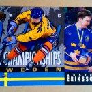 1994-95 Upper Deck #518 Anders Eriksson Sweden