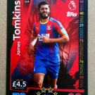 2018-19 Topps Match Attax Premier League #114 James Tomkins Crystal Palace