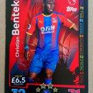 2018-19 Topps Match Attax Premier League #126 Christian Benteke Crystal Palace
