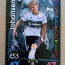 2018-19 Topps Match Attax Premier League #156 Stefan Johansen Fulham