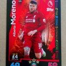 2018-19 Topps Match Attax Premier League Extra #U41 Alberto Moreno Liverpool