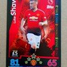2018-19 Topps Match Attax Premier League Extra #U48 Luke Shaw Manchester United
