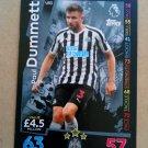 2018-19 Topps Match Attax Premier League Extra #U53 Paul Dummett Newcastle United