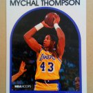 1989-90 NBA Hoops #4 Mychal Thompson Los Angeles Lakers