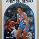 1989-90 NBA Hoops #6 Vinny Del Negro Sacramento Kings Rookie