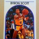 1989-90 NBA Hoops #15 Byron Scott Los Angeles Lakers