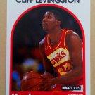 1989-90 NBA Hoops #22 Cliff Levingston Atlanta Hawks