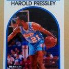 1989-90 NBA Hoops #24 Harold Pressley Sacramento Kings